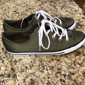 61a0622f3fe5 Converse Shoes - Converse Chuck Taylor All Star Dainty Satin OX